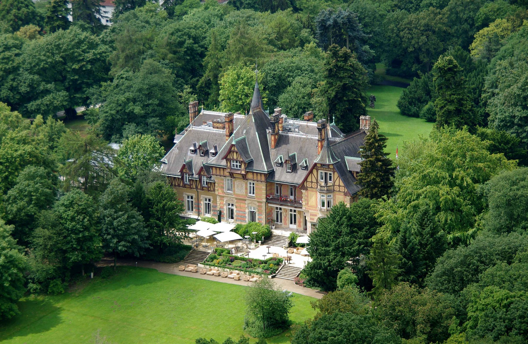 Germany Castles The Villa Rothschild